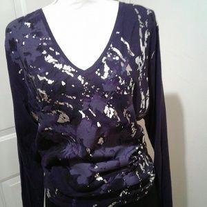 🌺Like New Tahari Long Sleeve Blouse/Shirt